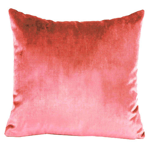 Grenadine Velvet Cushion