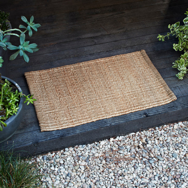 Nest Weave Entrance Mat Nat