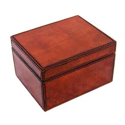 Pin Holder Leather Box