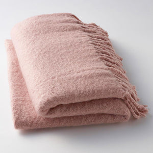 Rose Quartz Throw