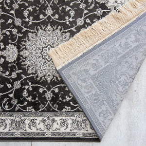 Royal Palace Rug Black