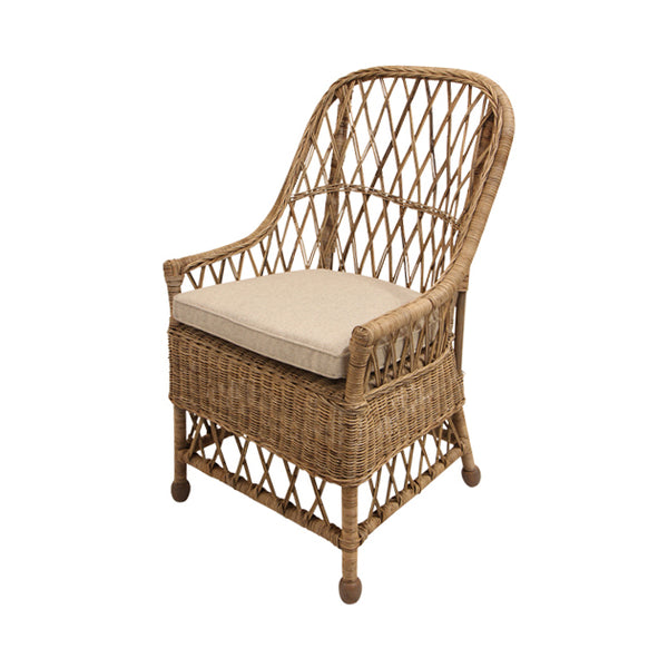 Yari Natural Open Weave Chair