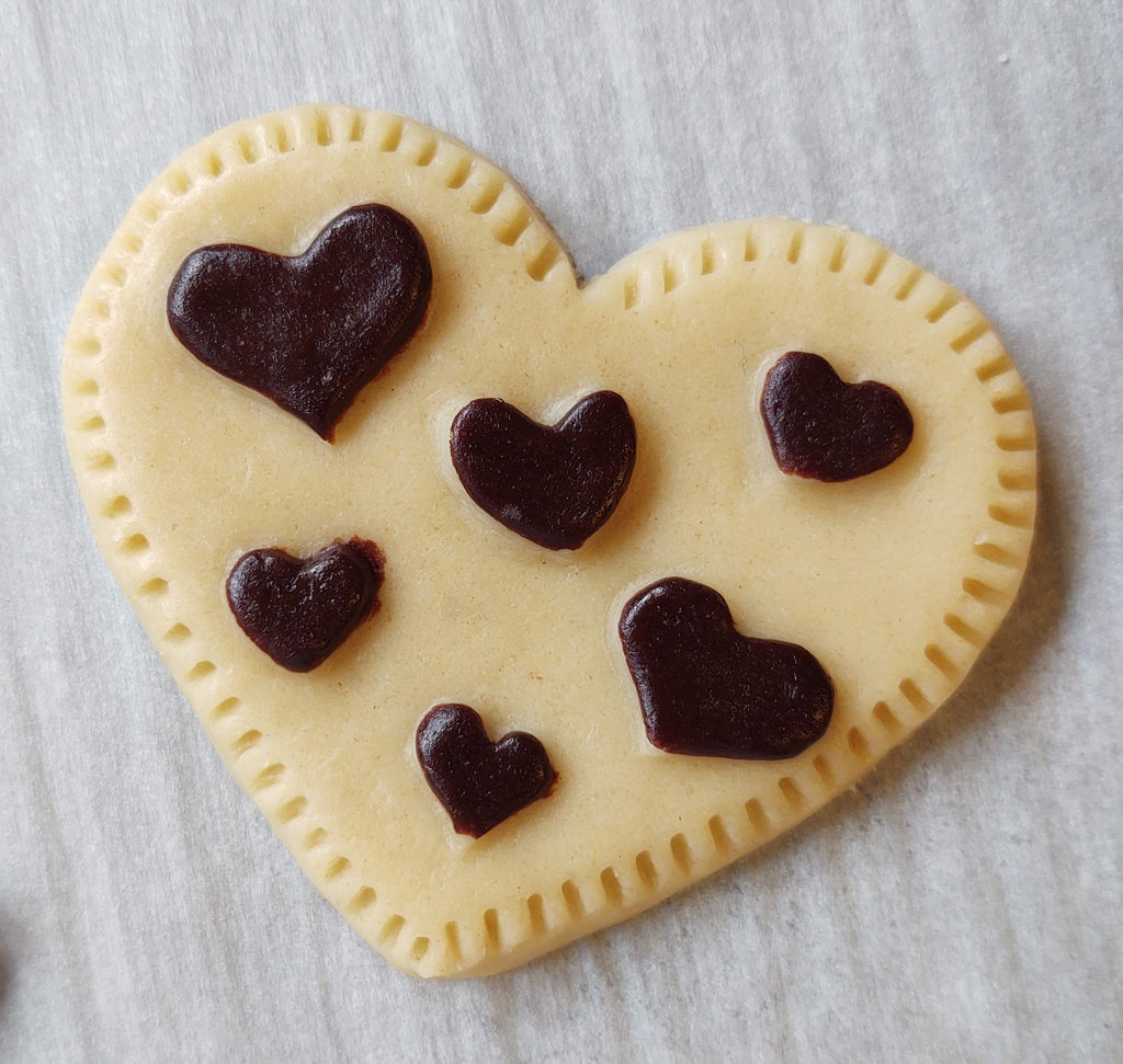 Polka Dot Heart Silicone Cookie Mold