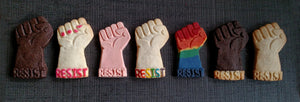 Resist Fist Silicone Cookie Mold
