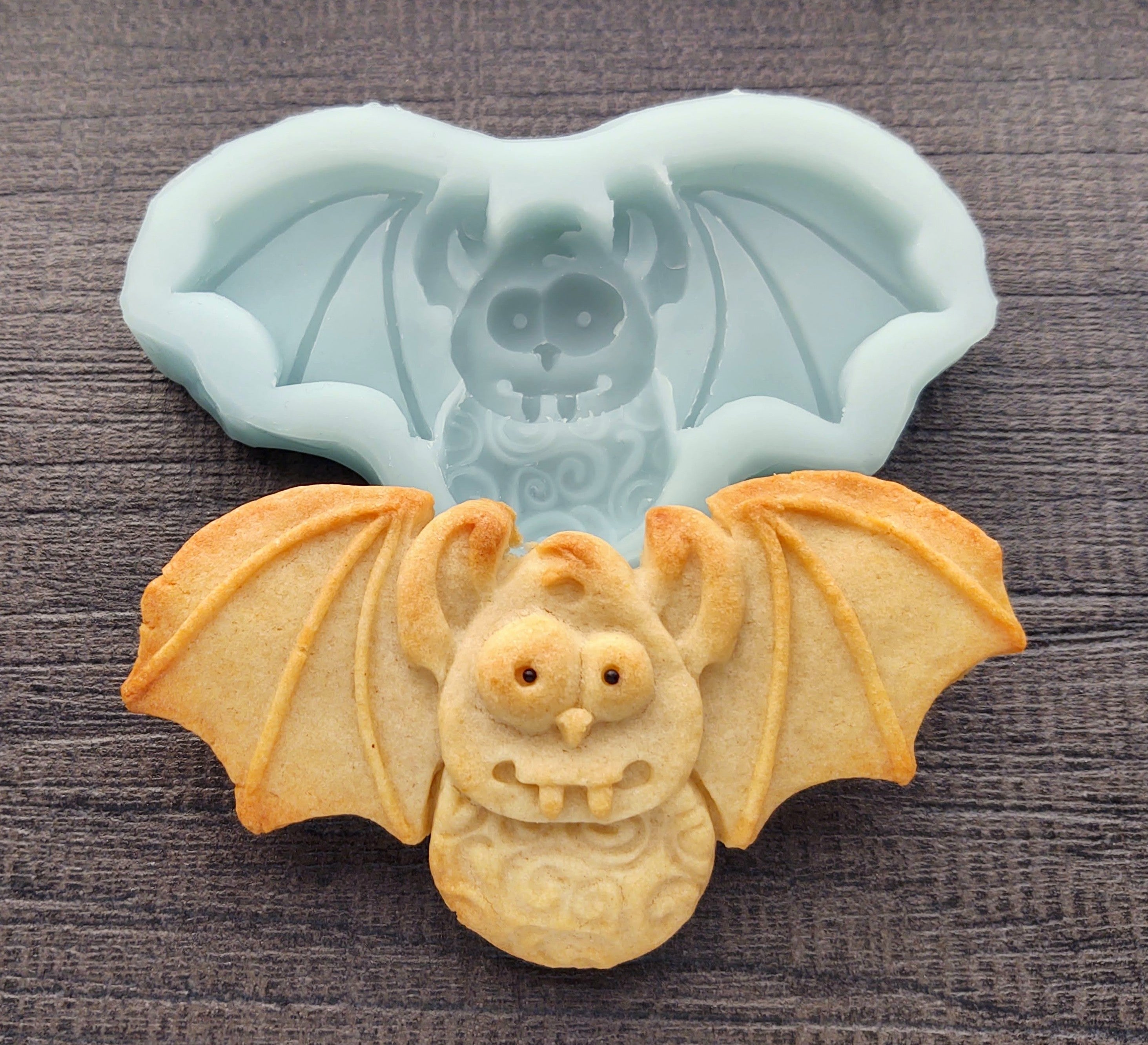 Bat Silicone Cookie Mold