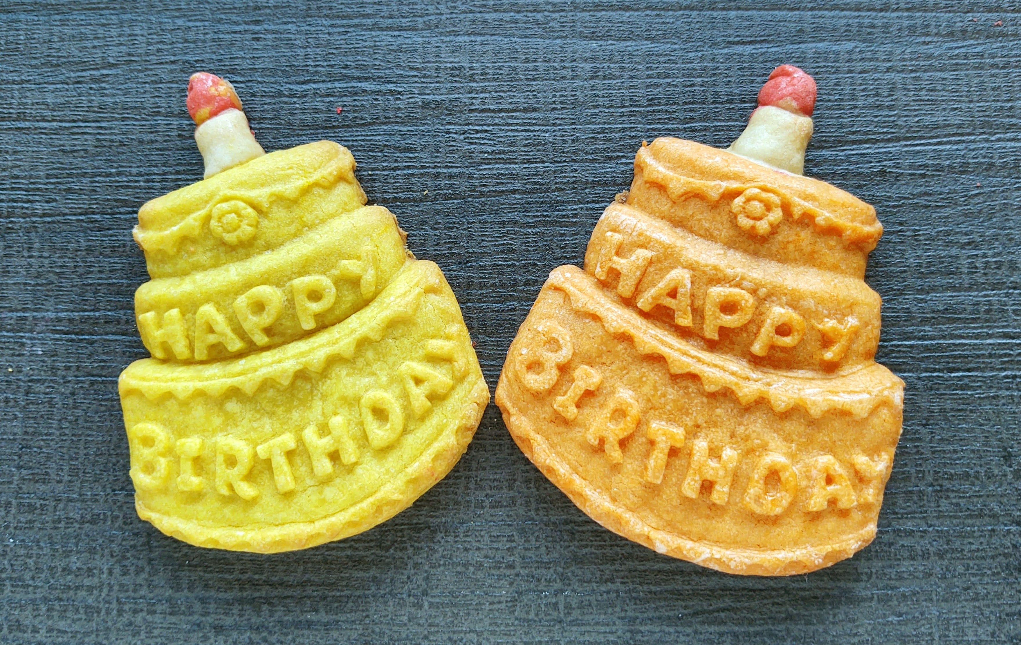 Happy Birthday Cake Silicone Cookie Mold