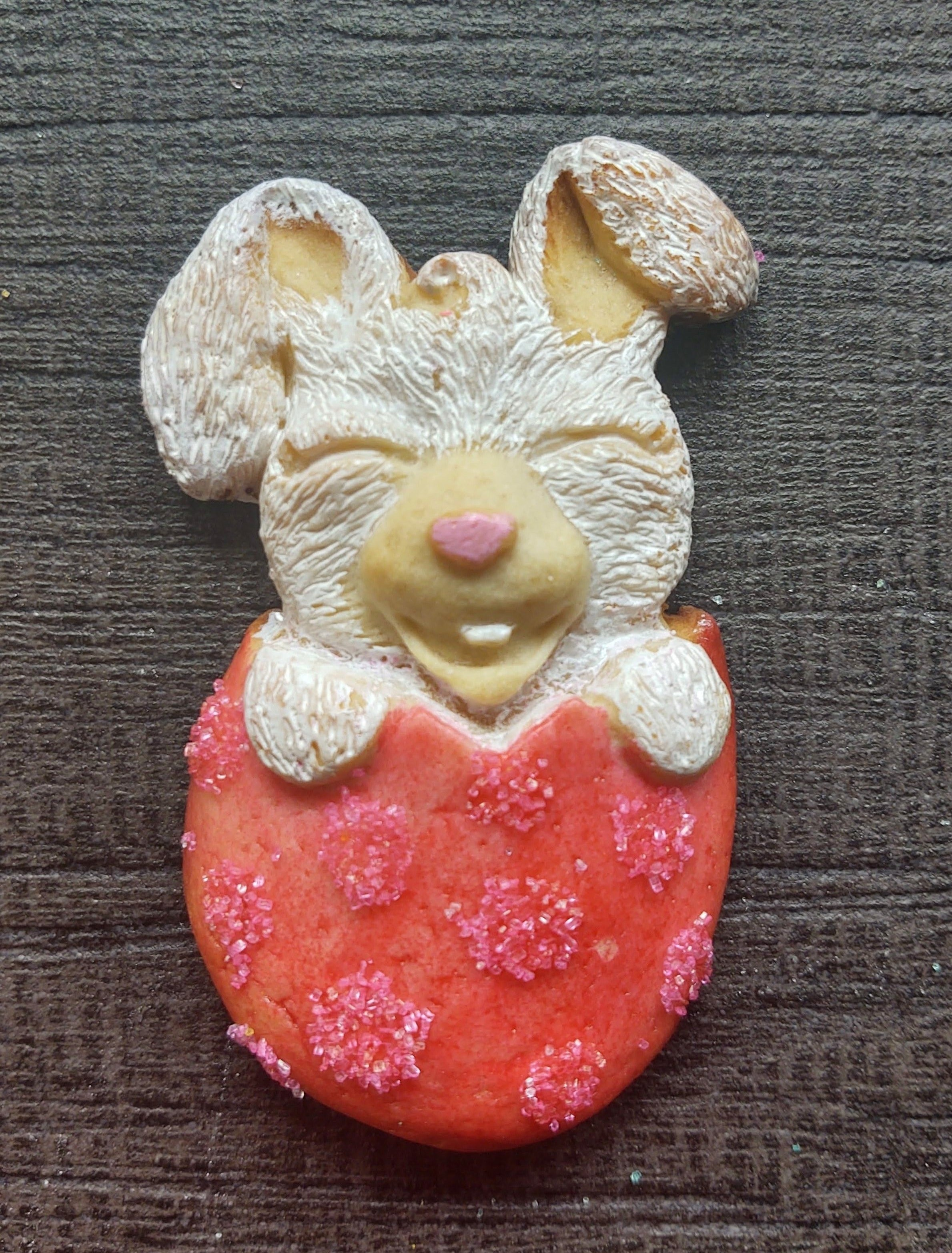 Hatching Bunny Silicone Cookie Mold