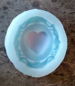 Heart Cameo Silicone Cookie Mold