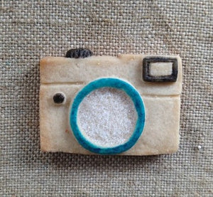 Mini Camera Silicone Cookie Mold
