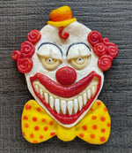 Creepy Clown Silicone Cookie Mold