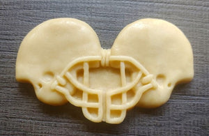 Rival Football Helmet Silicone Cookie Mold