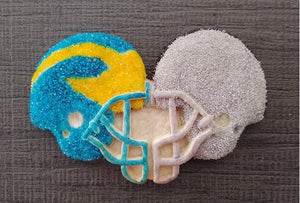 Rival Football Helmet Cookie Mold