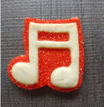 Music Note Double Silicone Cookie Mold