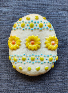 Egg Flower Silicone Cookie Mold
