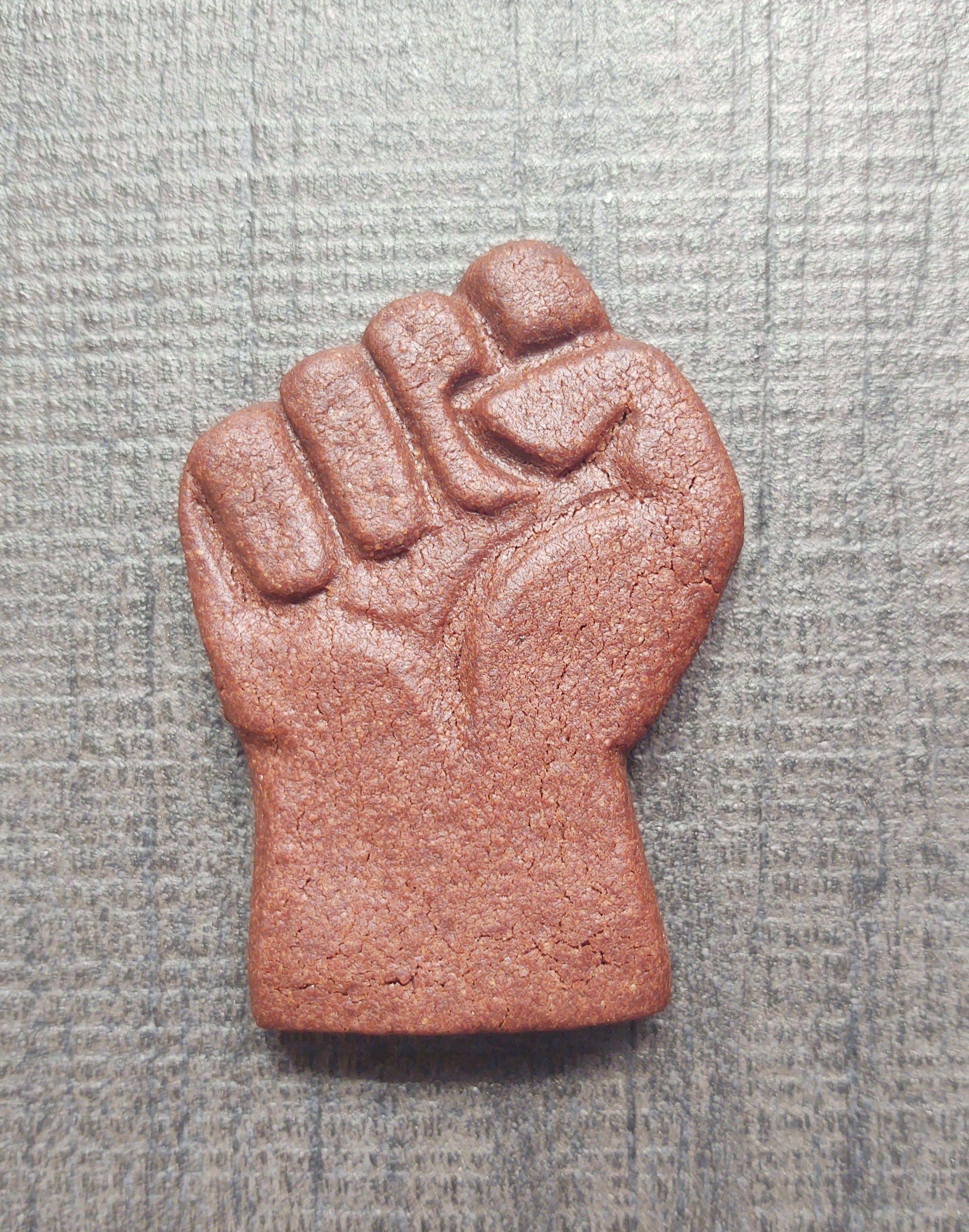 Fist Protest Give Back Silicone Cookie Mold