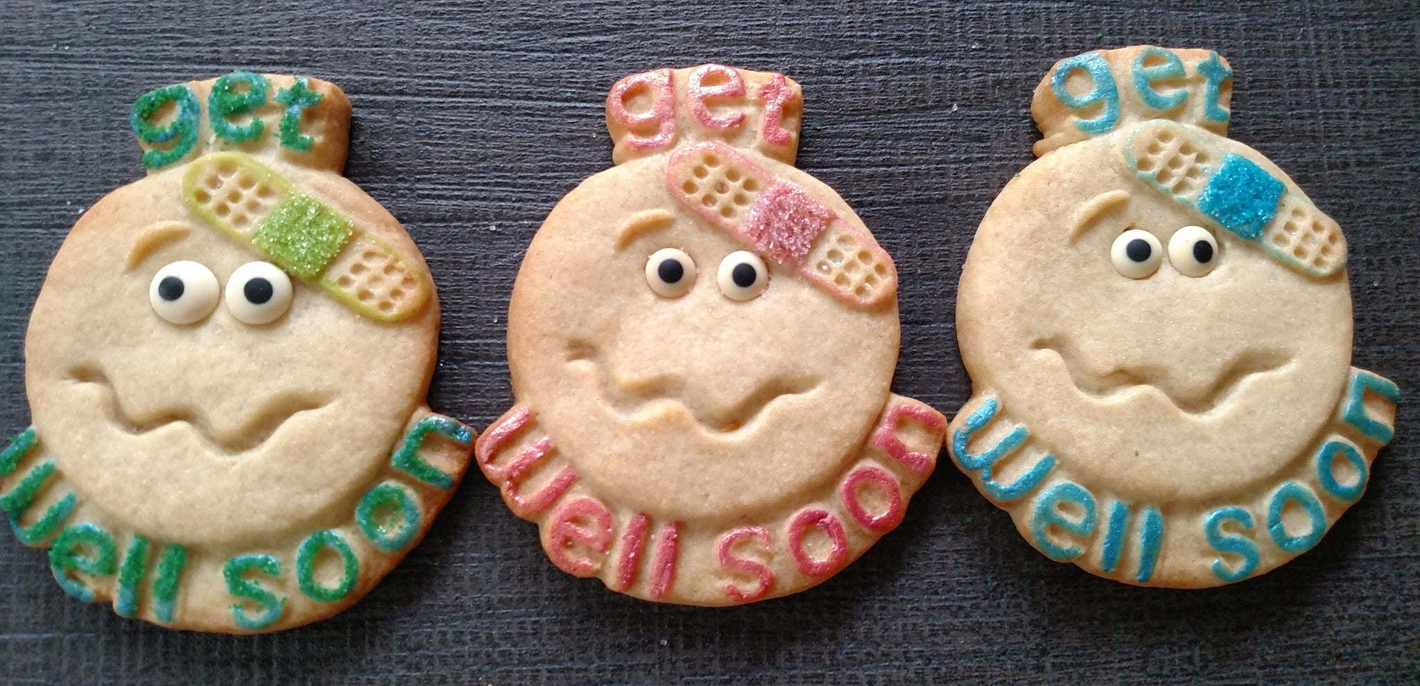 Get Well Cookie Mold - Artesão Unique & Custom Cookie Molds