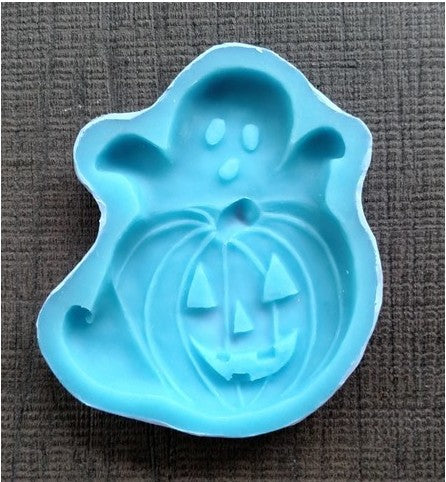 Ghost & Pumpkin Silicone Cookie Mold