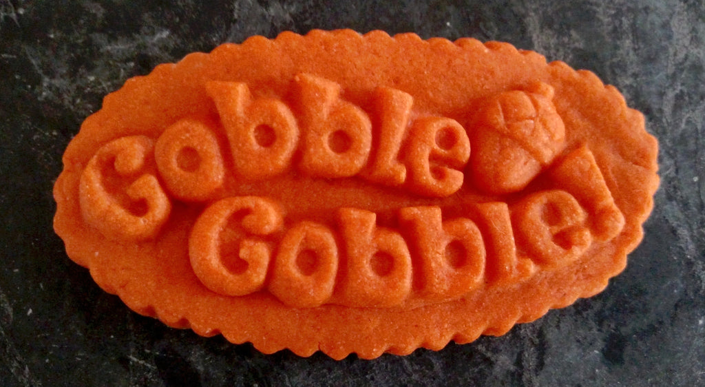 Gobble-Gobble Cookie Mold - Artesão Unique & Custom Cookie Molds