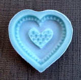 Heart Weave Cookie Mold - Artesão Unique & Custom Cookie Molds