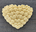 Heart Layered Silicone Cookie Mold