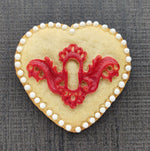 Heart Lock Silicone Cookie Mold