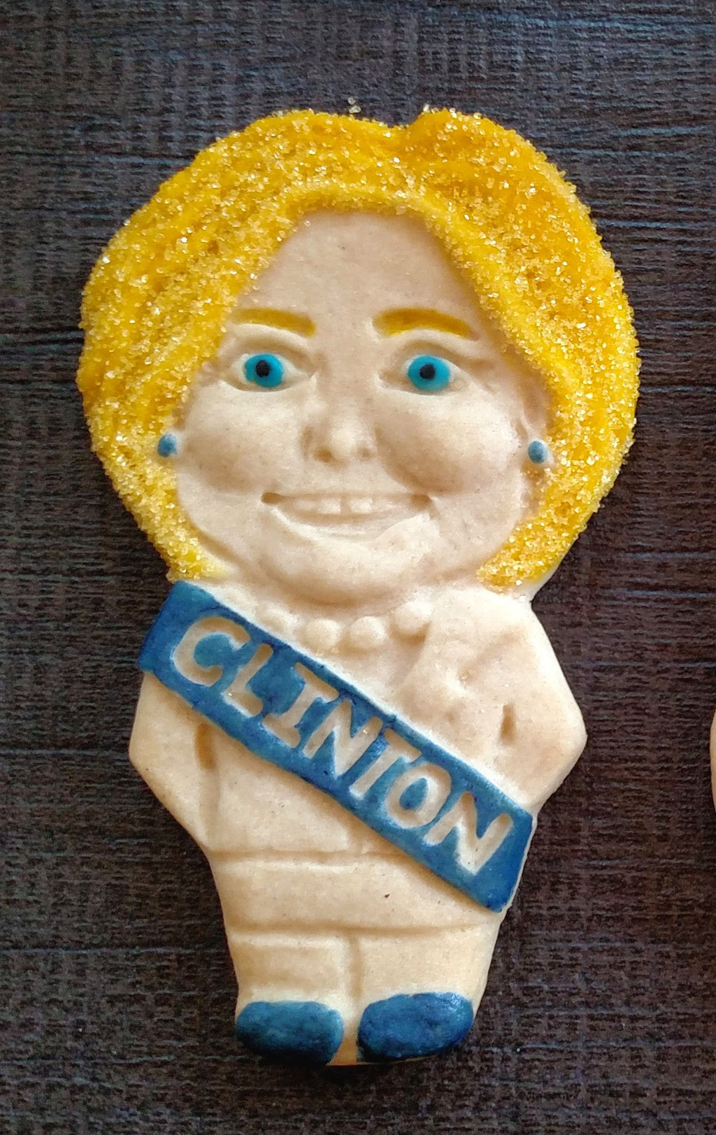 Hillary Clinton Cookie Mold