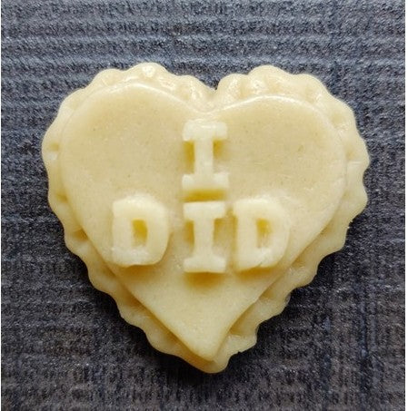"Mini ""I DID"" Cookie Mold"