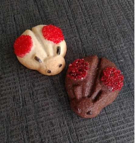 Mini Ladybug Cookie Mold