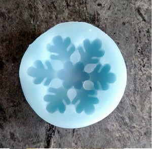 Mini Snowflake #3 Silicone Cookie Mold