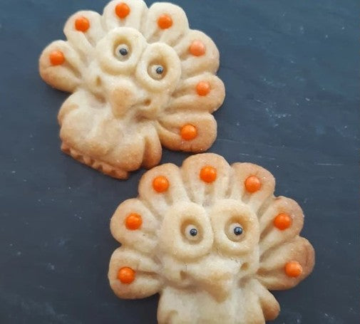 Mini Turkey Cookie Mold