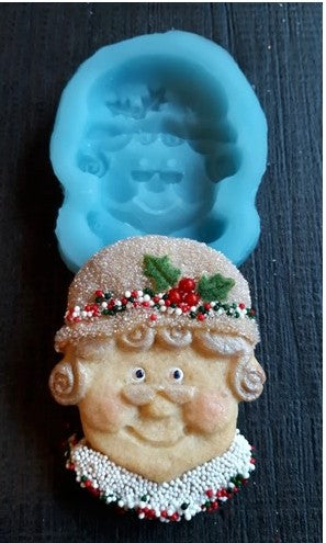 Mrs Claus Silicone Cookie Mold