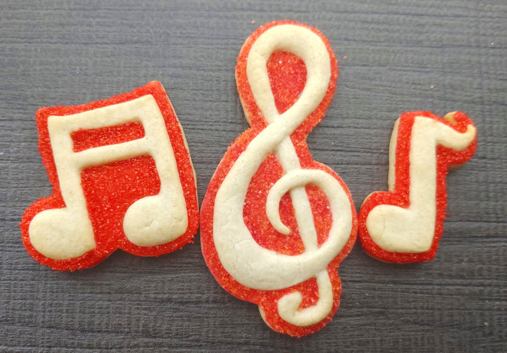 Music Silicone Cookie Mold Set- SAVE $3