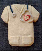 Nurse Scrubs Give-Back Cookie Mold