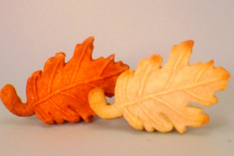 Oak Leaf Cookie Mold - Artesão Unique & Custom Cookie Molds