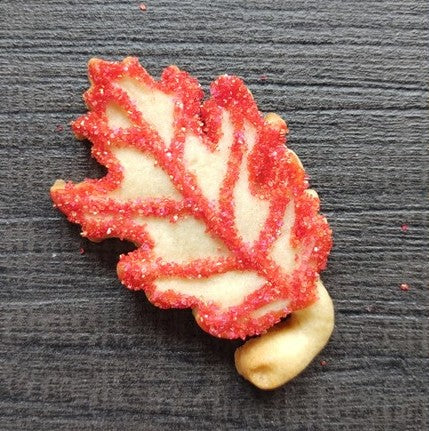 Oak Leaf Silicone Cookie Mold