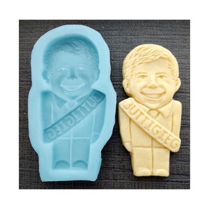 Pete Buttigieg Silicone Cookie Mold