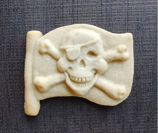 Pirate Flag Silicone Cookie Mold