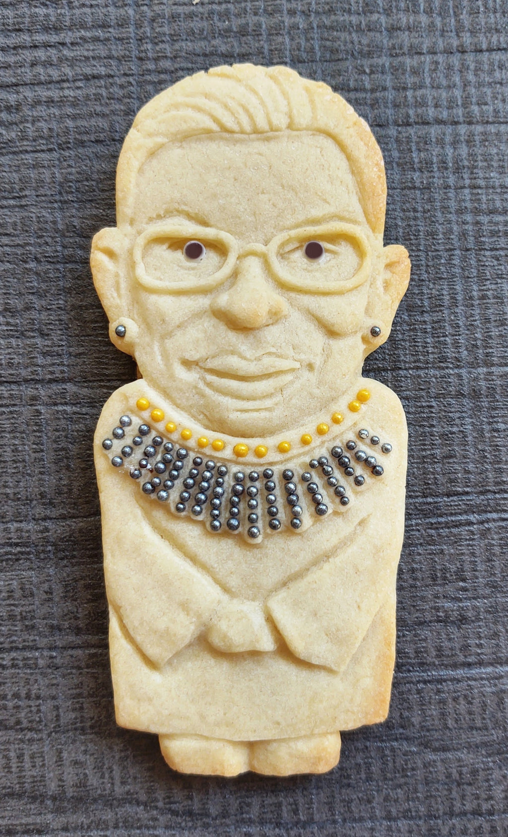 RBG Ruth Bader Ginsburg Silicone Cookie Mold