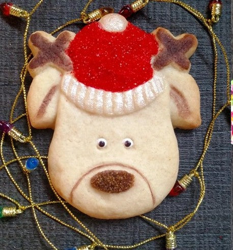 Reindeer Face Silicone Cookie Mold