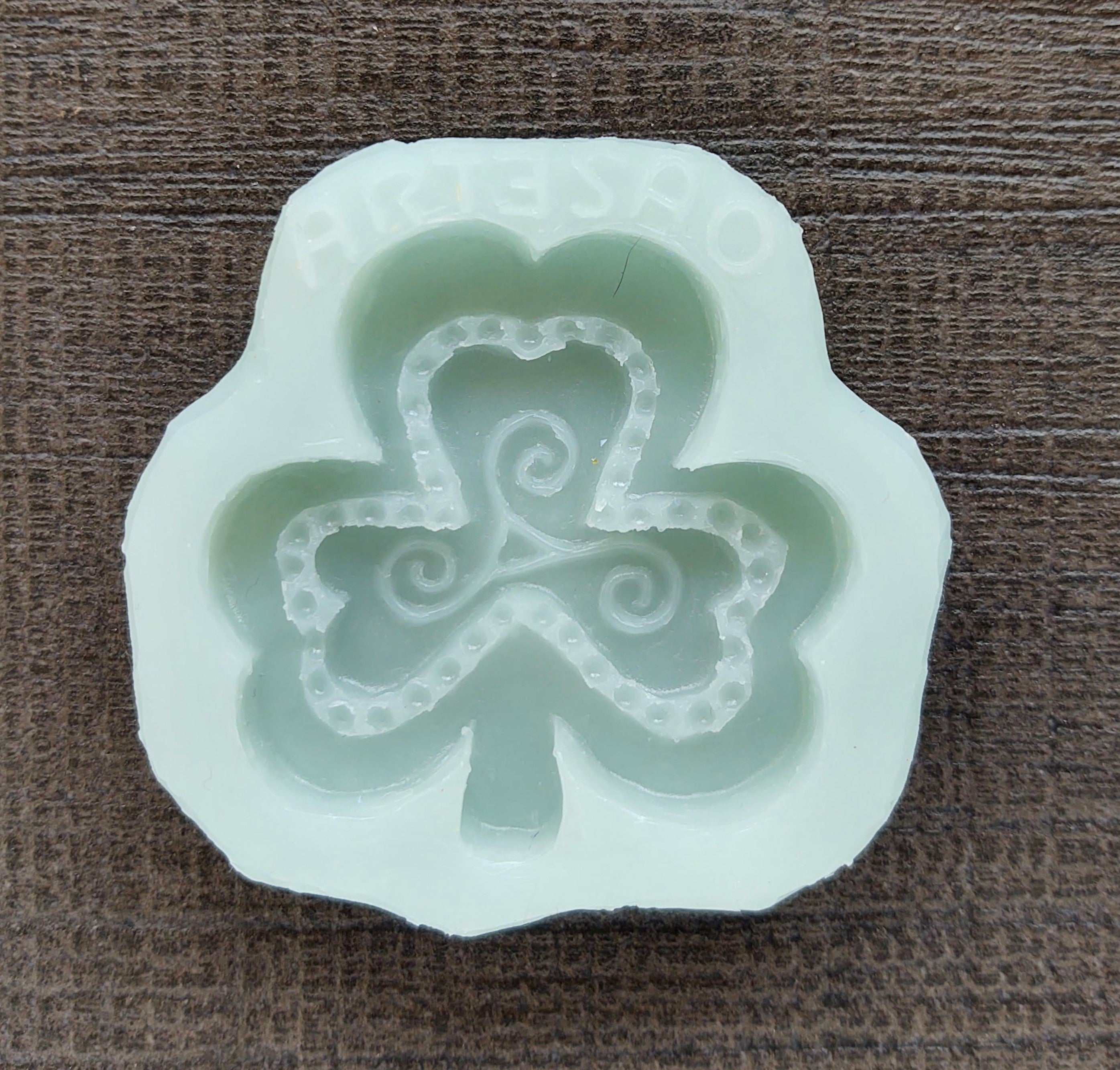Shamrock Silicone Cookie Mold