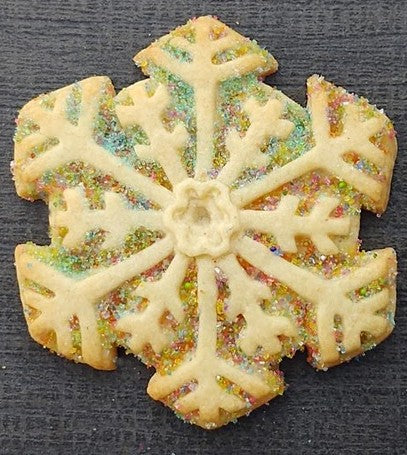 Snowflake Medium Silicone Cookie Mold