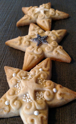 Star Cookie Mold - Artesão Unique & Custom Cookie Molds
