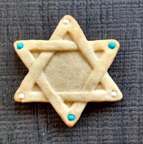 Star Of David Silicone Cookie Mold