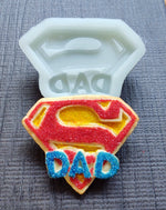Super Dad Silicone Cookie Mold
