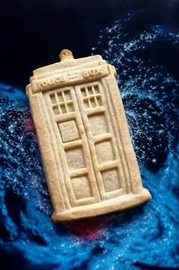 Police Box Silicone Cookie Mold