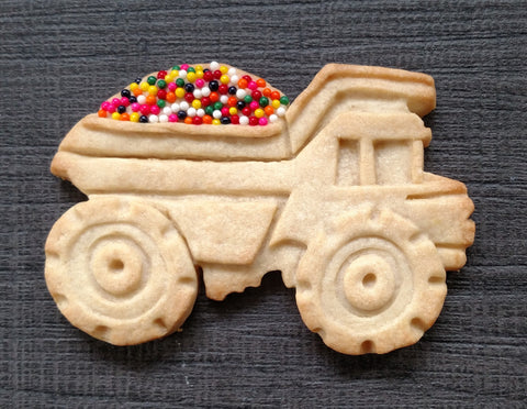 Dump Truck Cookie Mold - Artesão Unique & Custom Cookie Molds
