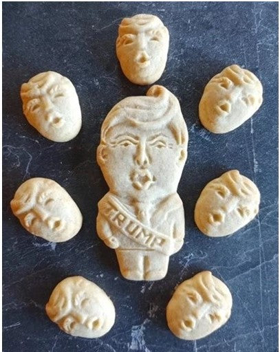 Donald Trump Silicone Cookie Mold