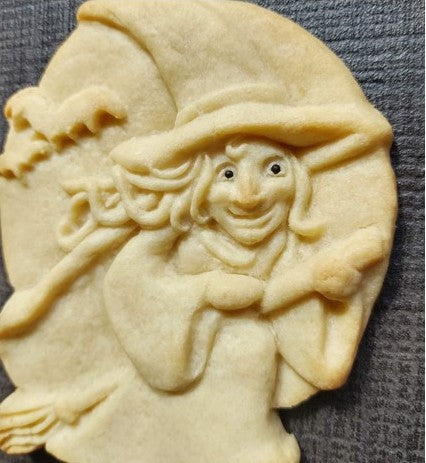 Witch Silicone Cookie Mold