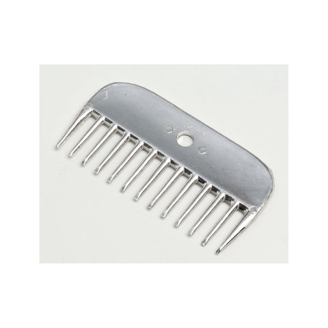 Aluminum Mane Comb Wide Teeth