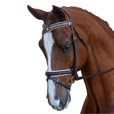 Collegiate Padded Crank Hano Bridle